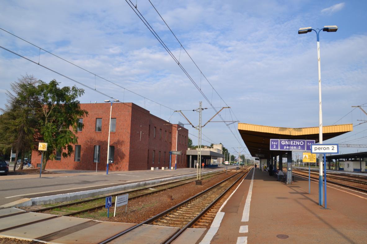 Dworzec PKP w Gnieźnie